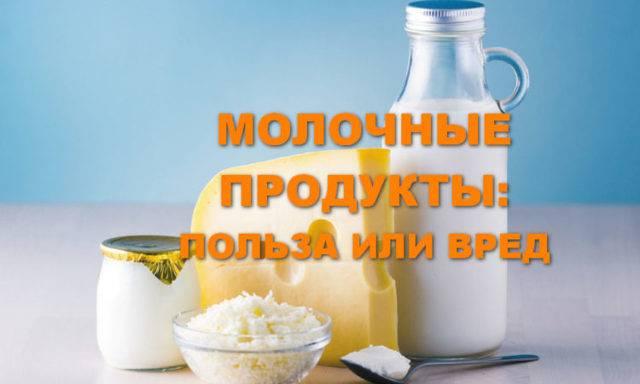 Молоко: польза и вред для организма человека. научные факты