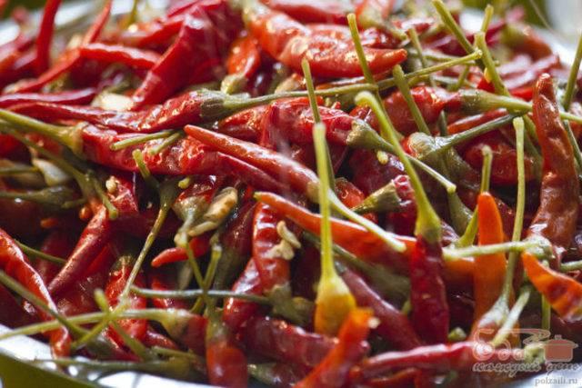 Красный молотый перец: вред и польза. использование и как приготовить красный молотый перец