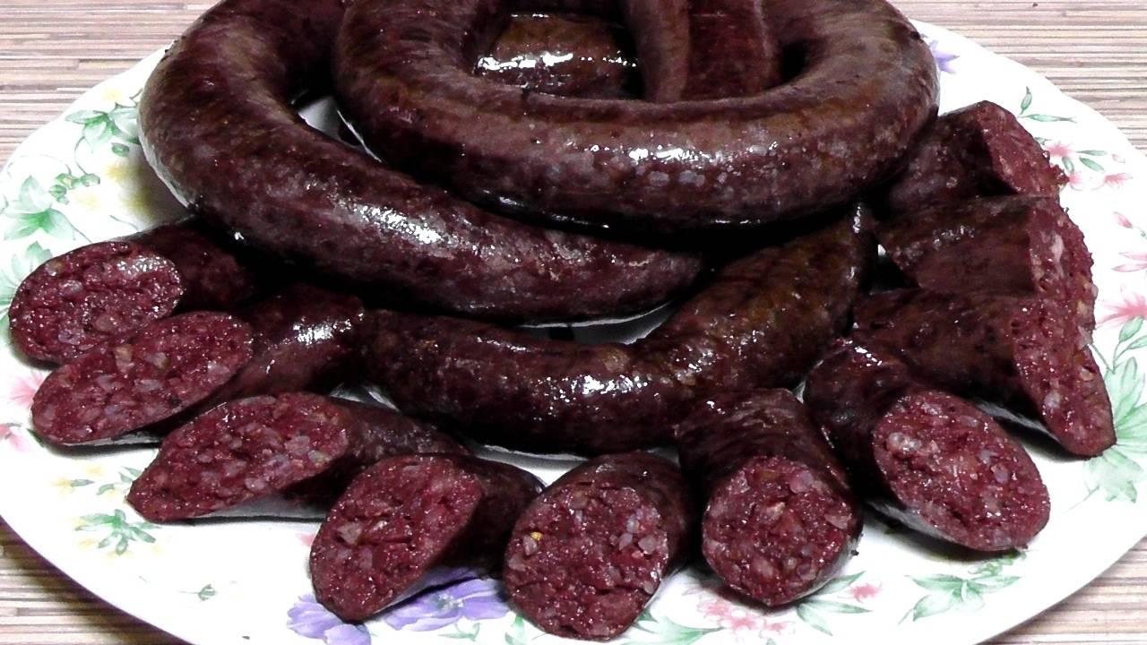 Колбаса кровянка вред и польза