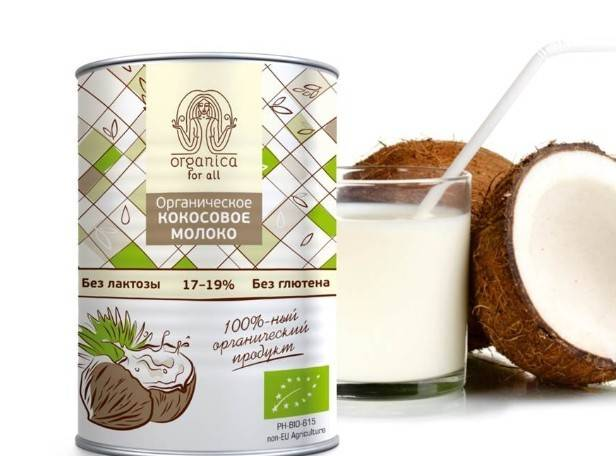 Польза и вред кокосового молока сухого, консервированного, свежего