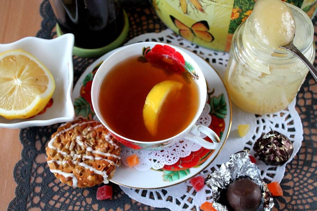 Чай с медом — польза и вред для здоровья
