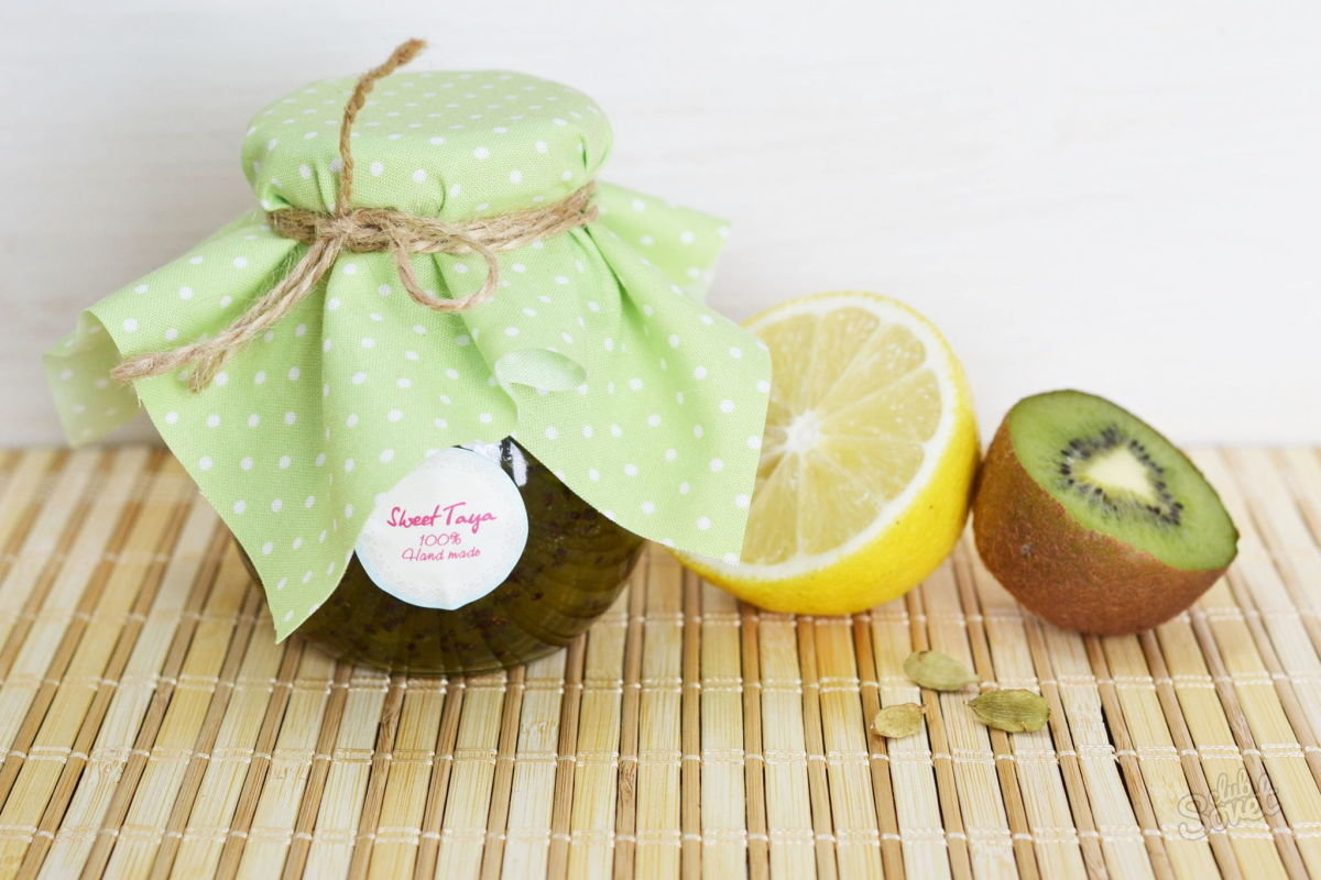 Варенье из киви - как приготовить с бананом, лимоном или апельсином по пошаговым рецептам с фото