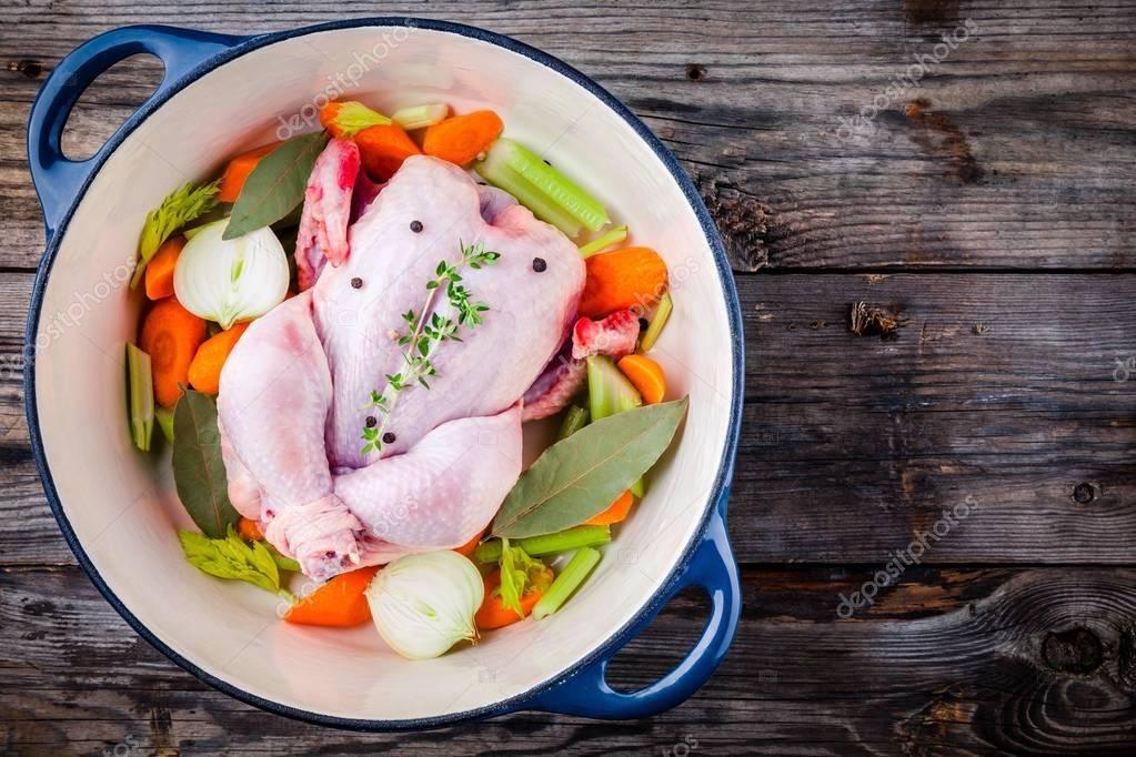 Как приготовить полезный куриный бульон и минимизировать его вред?
