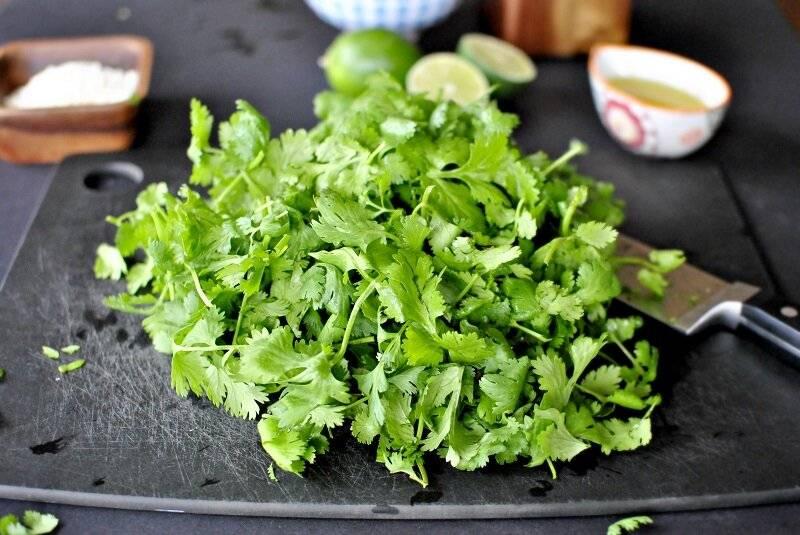 Зелень и специи при беременности!