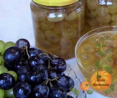Варенье из винограда: 7 вкусных рецептов