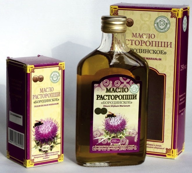 Как принимать, польза и вред масла расторопши