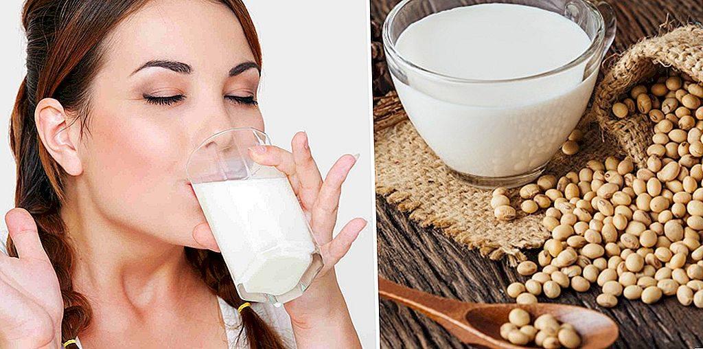 Соевое молоко: полезные свойства и противопоказания, рецепты
