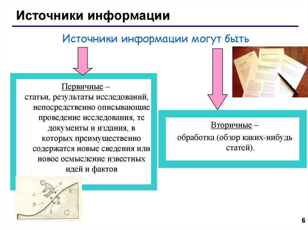 Научная информация: виды, способы получения и использование