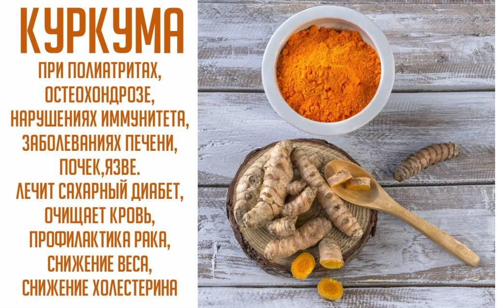 Что такое куркума: применение и полезные свойства, лучшие рецепты здоровья и красоты