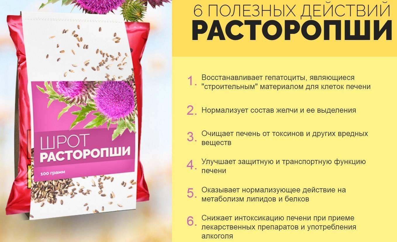 Скорая помощь для печени: уникальные целебные свойства расторопши