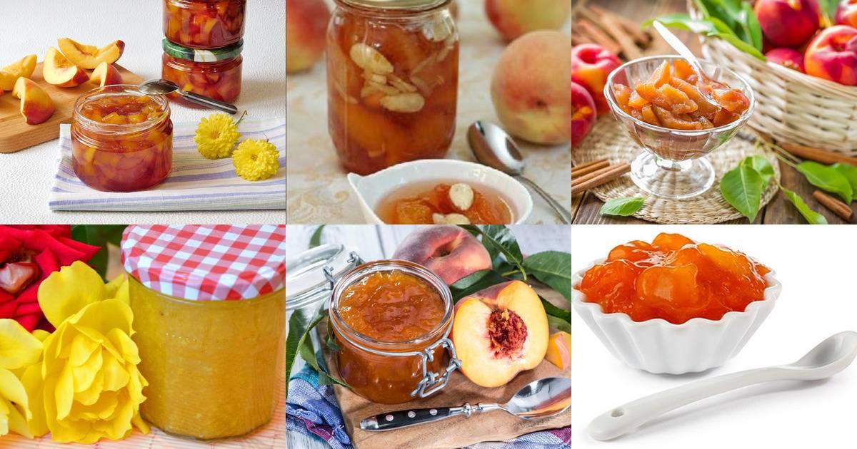 Варенье из персиков с грецкими орехами: топ 8 вкусных рецептов на зиму
