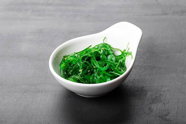 Морские водоросли чука — польза и вред. салат из морских водорослей санта бремор чука