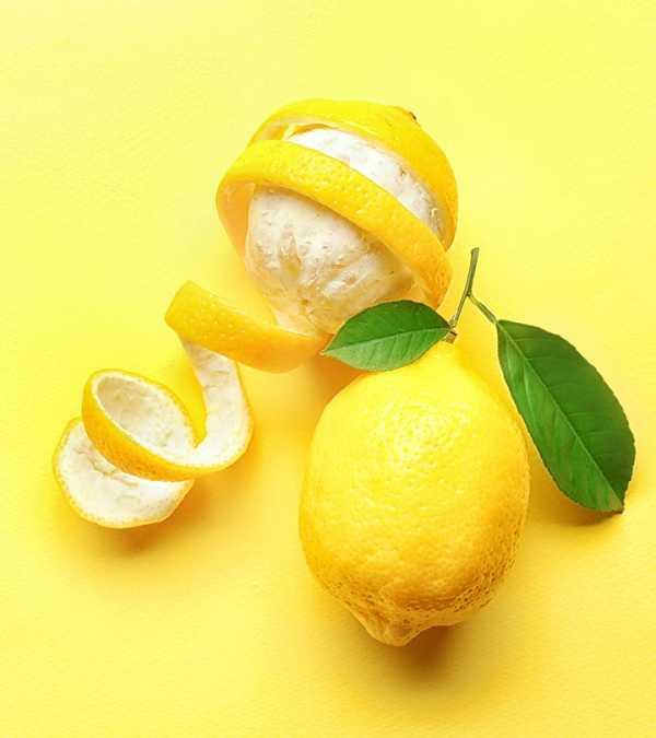 Витамины в кожуре лимона