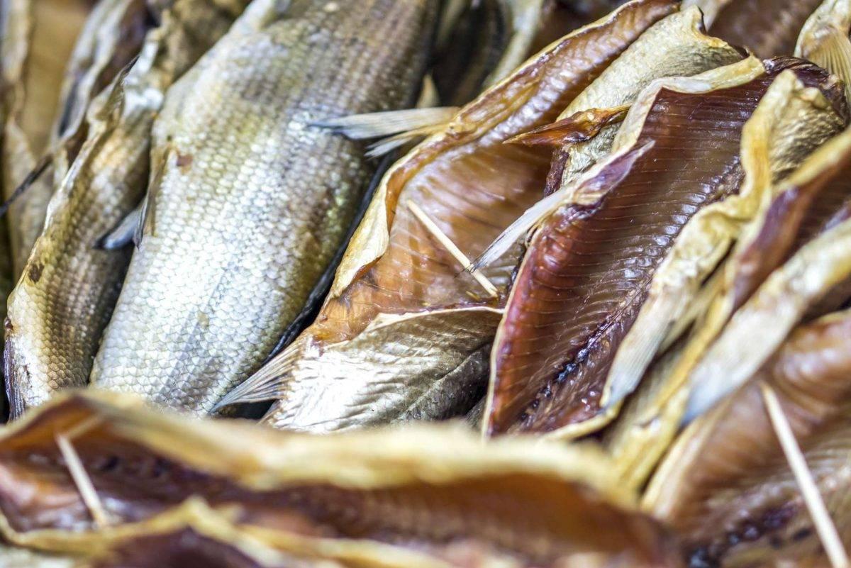 Вяленая и сушеная рыба польза