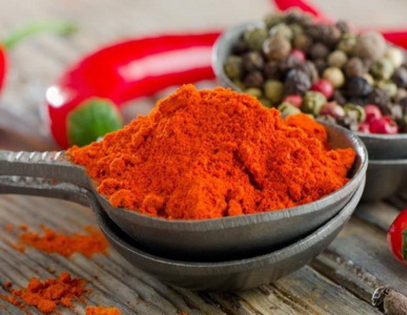 Красный болгарский перец – польза и противопоказания