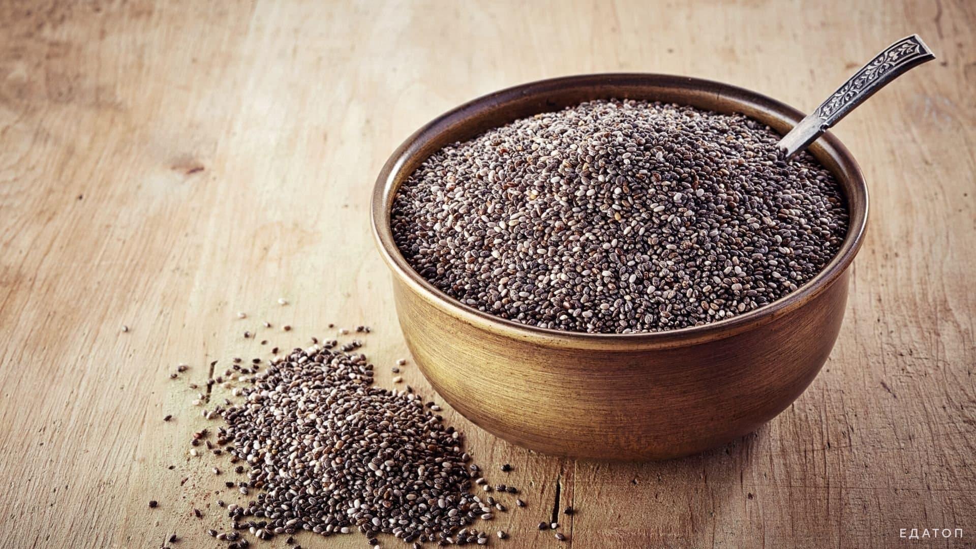 Семена чиа: польза и вред для женщин и мужчин. чего больше?