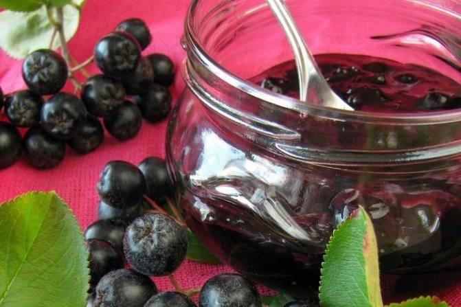 Варенье из черноплодной рябины в домашних условиях – простые рецепты приготовления