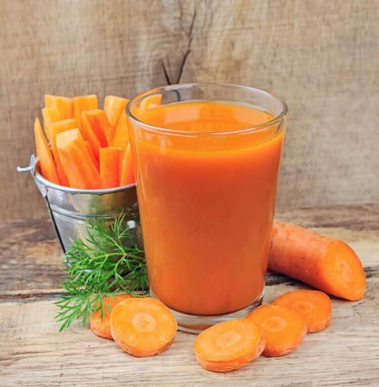 Морковный сок полезные свойства и противопоказания