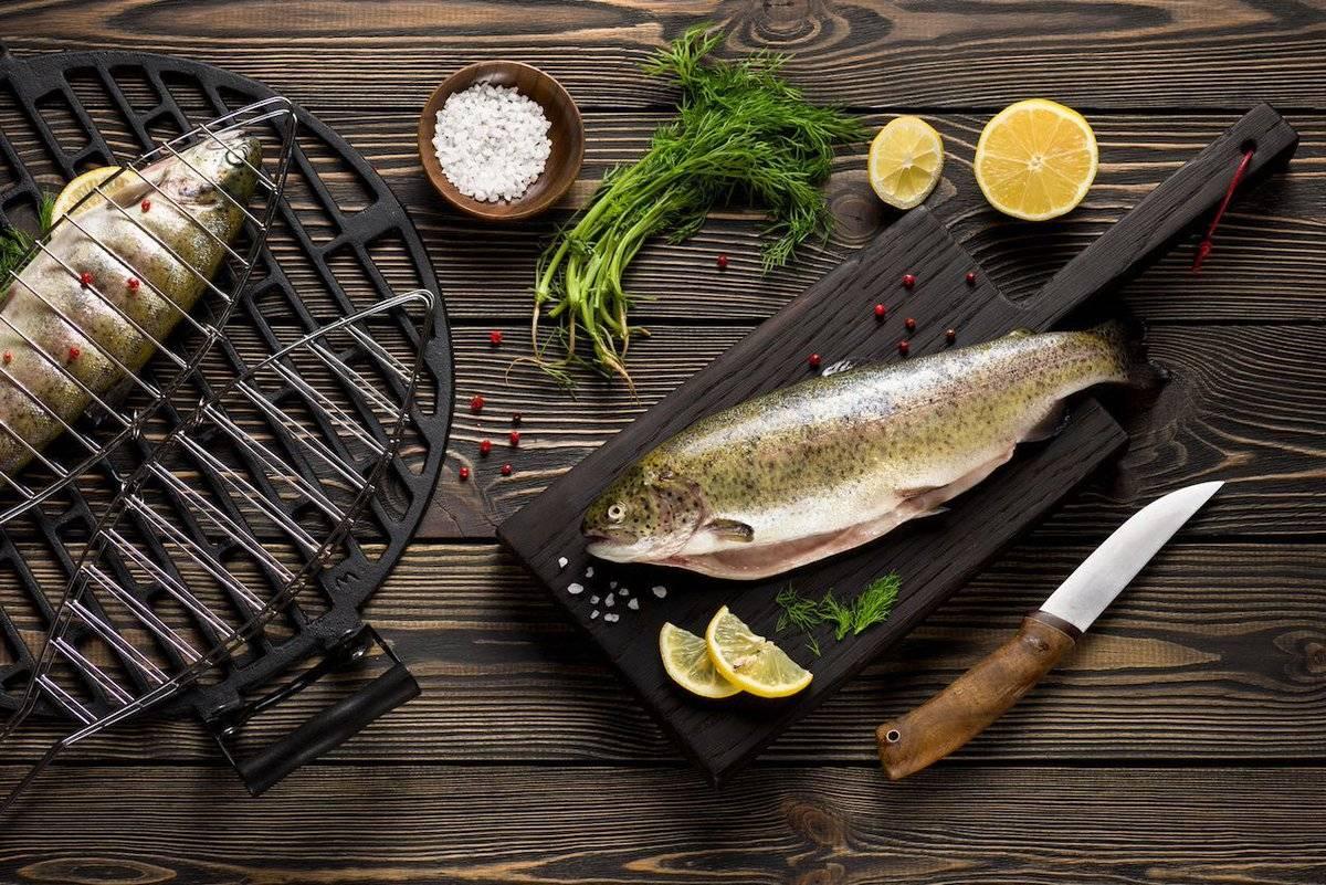 Полезные свойства форели, ее калорийность