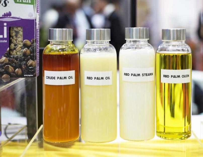Вред пальмового масла для организма человека