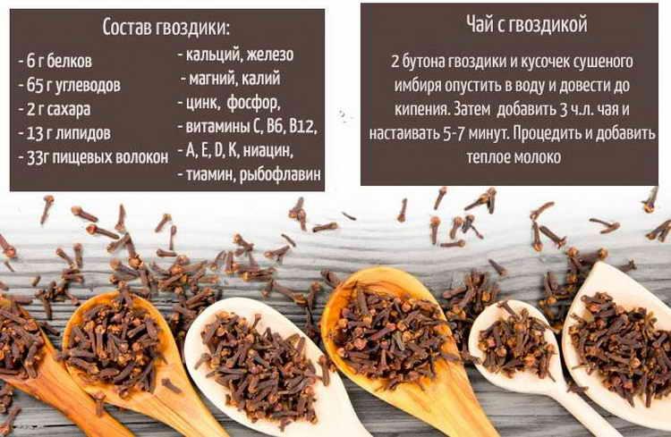 Чай из гвоздики: польза и вред