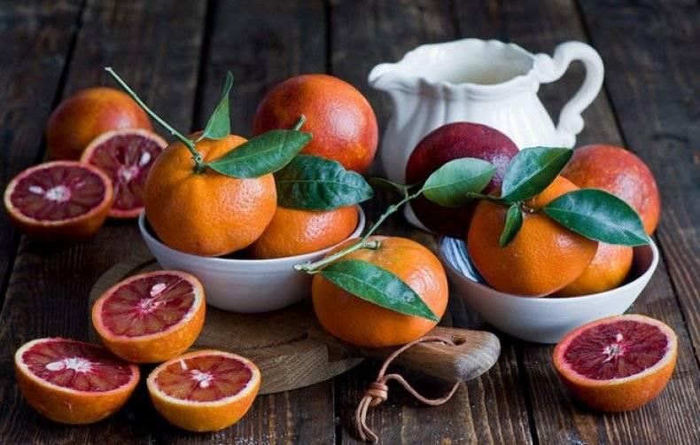 Красные апельсины: польза и вред для здоровья