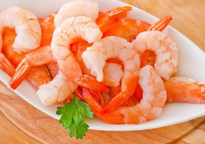 Креветки при грудном вскармливании: какие морепродукты можно есть?
