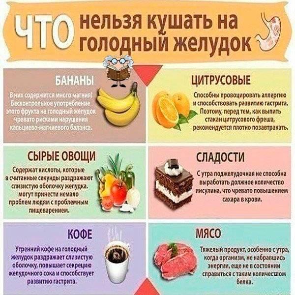 Какие фрукты и овощи можно есть при гастрите
