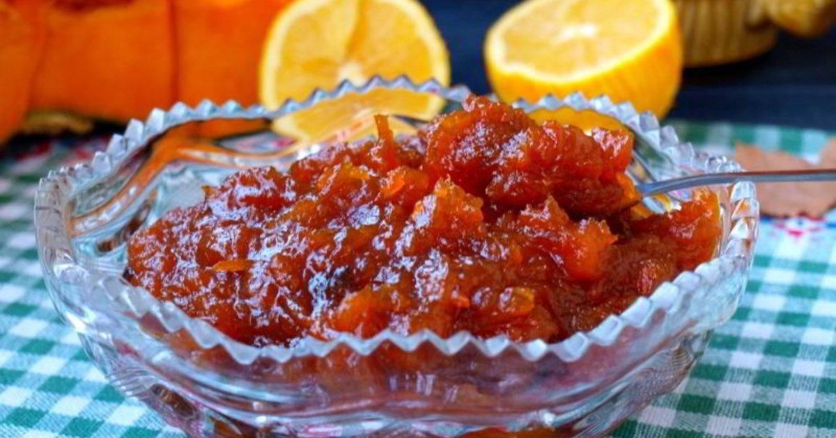 Лимонное варенье с апельсином