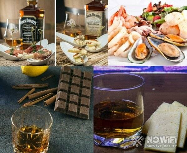 Как пить виски правильно и чем закусывать?