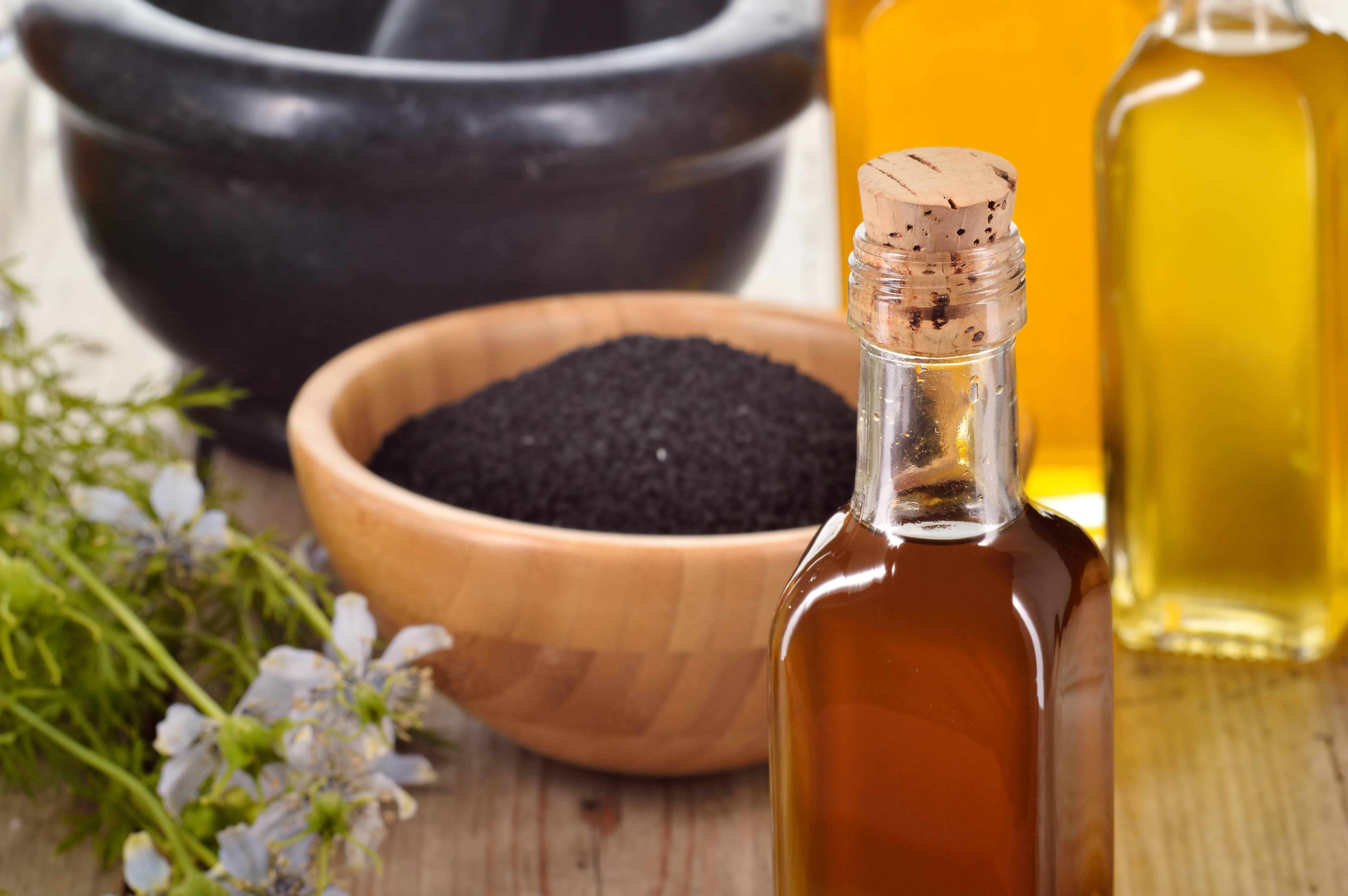 Масло черного тмина. применение