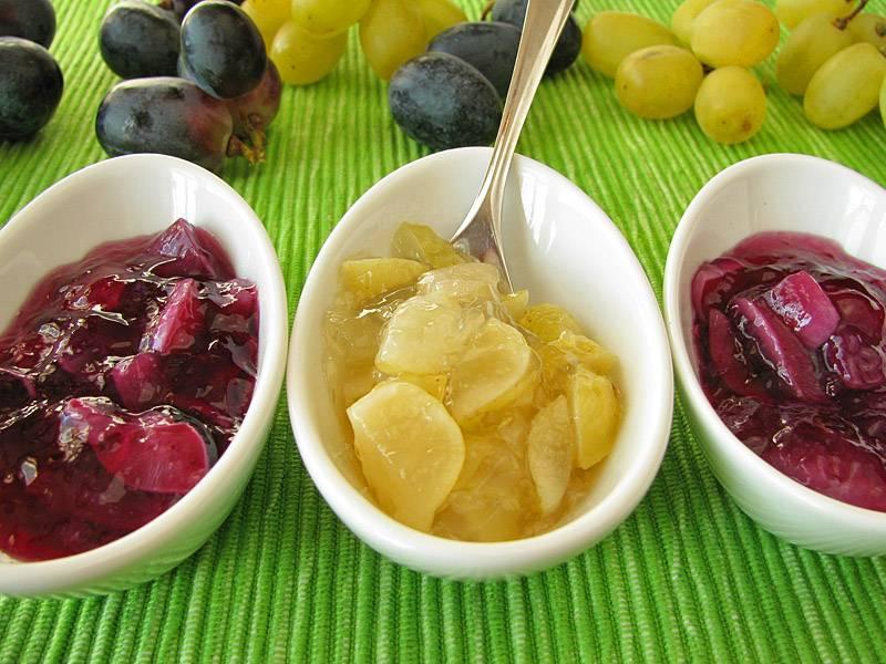 Как варить виноградное варенье в домашних условиях