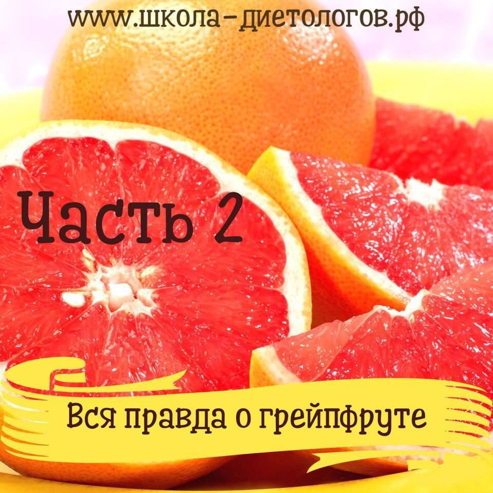 Грейпфрут польза и вред для организма противопоказания