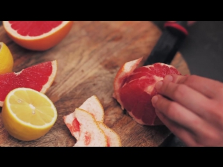 Как почистить грейпфрут быстро и легко от пленок, чтобы он не был горьким?