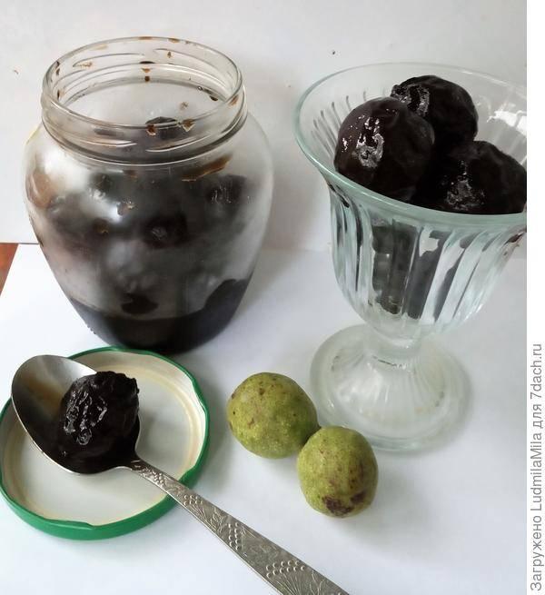 Варенье из зеленых грецких орехов – 3 рецепта
