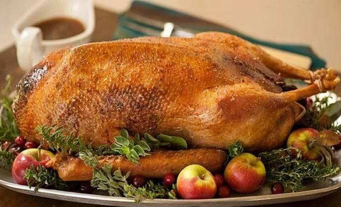 Блюда из гуся: 43 домашних вкусных рецепта