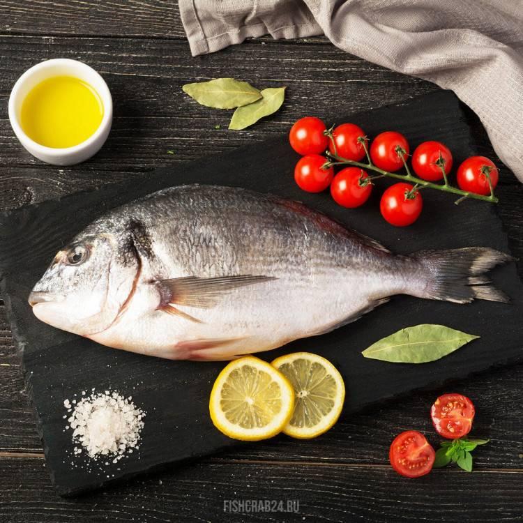 Рыба дорадо: калорийность и бжу, польза и вред для организма, рецепты