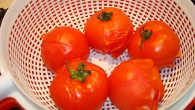 Как снять шкурку с помидора в микроволновке