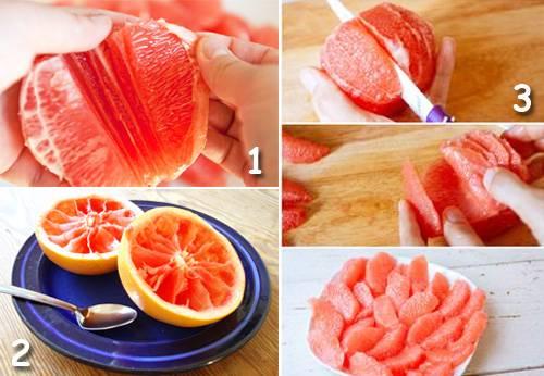 Как правильно есть грейпфрут для похудения