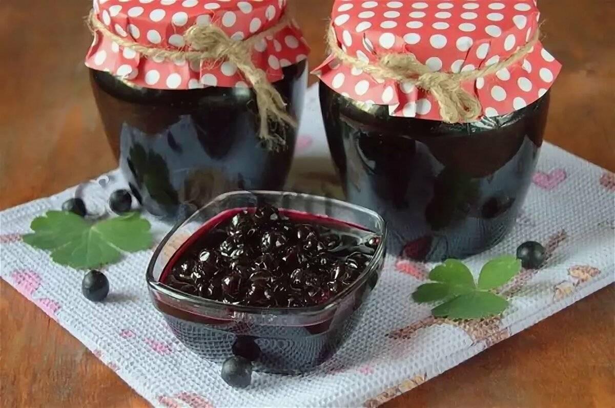Варенье из черноплодной рябины на зиму