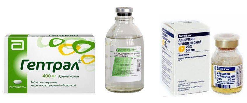 Реополиглюкин и другие препараты