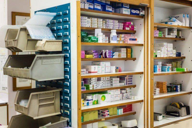 Аптечные полки