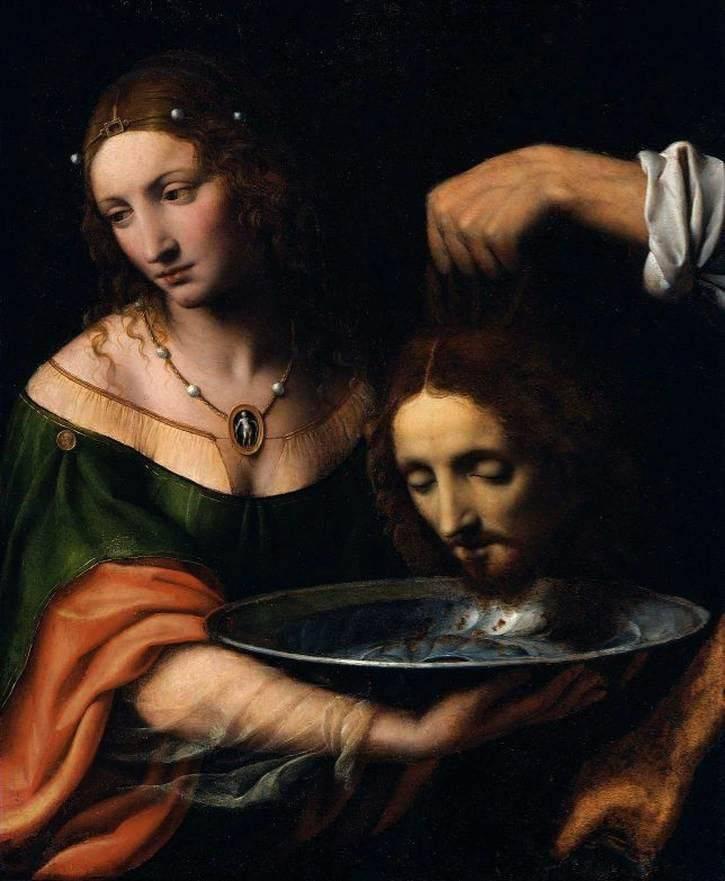 Картина Саломея с головой Иоанна Крестителя