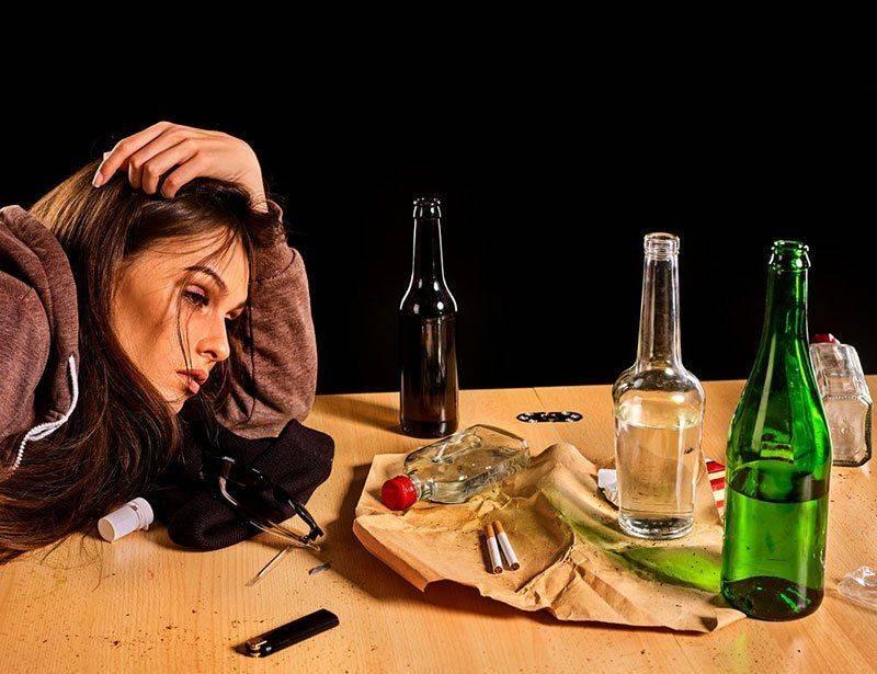 В состоянии алкогольного опьянения