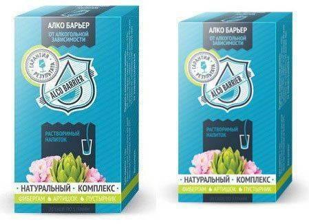Алкобарьер: две упаковки