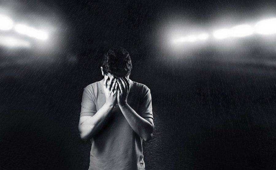 В состоянии депрессии