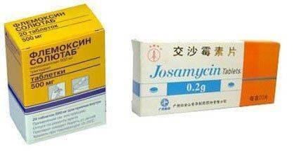 Флемоксин, Джозамицин