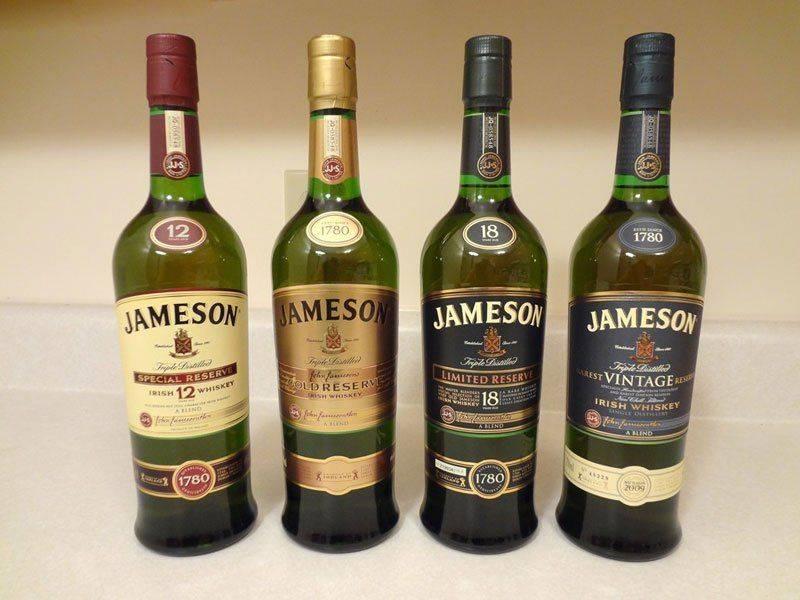 Разные виды Jameson
