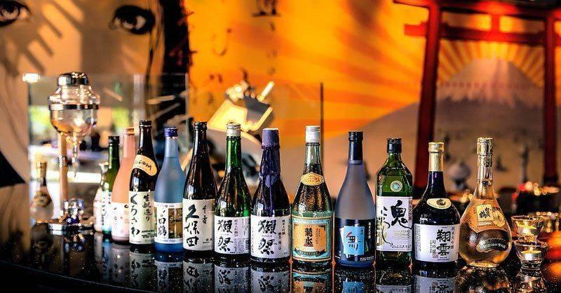 Разные японские напитки