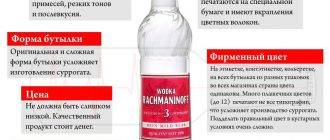 Как отличить качественную водку